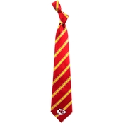 Eagles Wings NFL Kansas City Chiefs Striped Necktie
