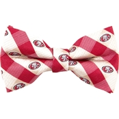 Eagles Wings NFL San Francisco 49ers Checked Bow Tie