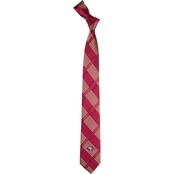 Eagles Wings NFL San Francisco 49ers Skinny Plaid Necktie