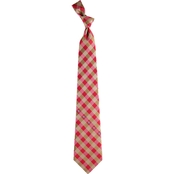Eagles Wings NFL San Francisco 49ers Checked Necktie