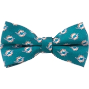 Eagles Wings NFL Miami Dolphins Logo Bow Tie