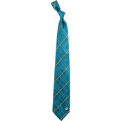 Eagles Wings NFL Miami Dolphins Oxford Woven Silk Necktie