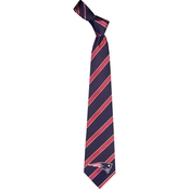 Eagles Wings NFL New England Patriots Striped Necktie