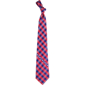 Eagles Wings NFL New York Giants Checked Necktie