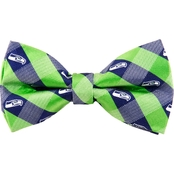 Eagles Wings NFL Seattle Seahawks Checked Bow Tie