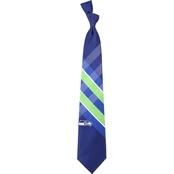 Eagles Wings NFL Seattle Seahawks Grid Necktie