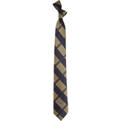 Eagles Wings NFL New Orleans Saints Skinny Plaid Necktie