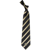 Eagles Wings NFL New Orleans Saints Striped Necktie