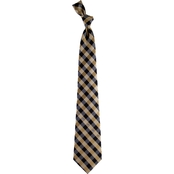 Eagles Wings NFL New Orleans Saints Checked Necktie