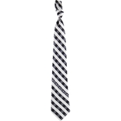 Eagles Wings NFL Oakland Raiders Checked Necktie