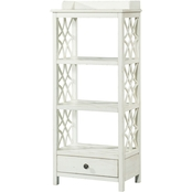 Klaussner Trisha Yearwood Honeysuckle Etagere, White
