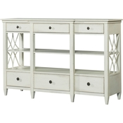 Klaussner Trisha Yearwood Bakersfield Sideboard, White