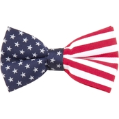 Eagles Wings American Flag Bow Tie