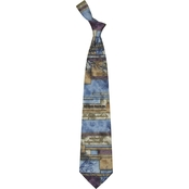 Eagles Wings Crucified with Christ Silk Necktie