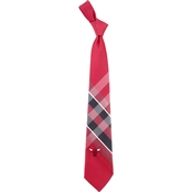 NBA Chicago Bulls Woven Grid Tie
