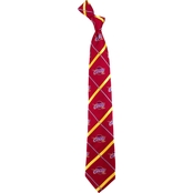 NBA Cleveland Cavaliers Silver Line Woven Silk Tie