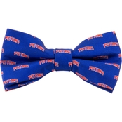 NBA Detroit Pistons Woven Repeat Bow Tie