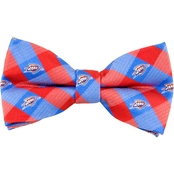 NBA Oklahoma City Thunder Woven Check Bow Tie