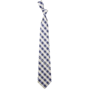 Eagles Wings U.S. Navy Checked Necktie