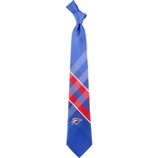 NBA Oklahoma City Thunder Woven Grid Tie