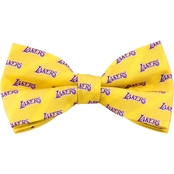 NBA Los Angeles Lakers Woven Repeat Bow Tie