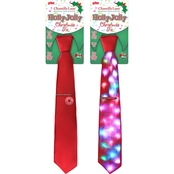Chantilly Lane Holly Jolly Christmas Tie