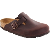 Birkenstock Men's Boston Suede Clogs