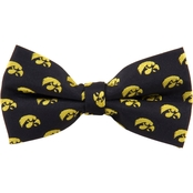 Eagles Wings NCAA Iowa Hawkeyes Repeat Logo Bow Tie