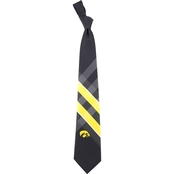 Eagles Wings NCAA Iowa Hawkeyes Woven Grid Tie
