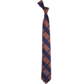 Eagles Wings NCAA Auburn Tigers Plaid Necktie