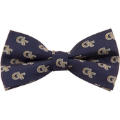 Eagles Wings NCAA Georgia Tech Yellow Jackets Woven Repeat Logo Bow Tie