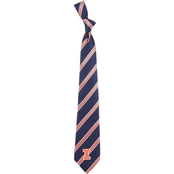 Eagles Wings NCAA Illinois Fighting Illini Woven Tie