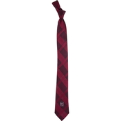 Eagles Wings NCAA South Carolina Gamecocks Skinny Plaid Woven Tie