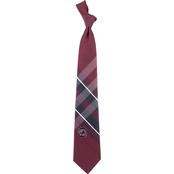 Eagles Wings NCAA South Carolina Gamecocks Woven Grid Tie
