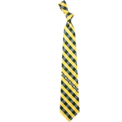Eagles Wings NCAA Baylor Bears Woven Check Tie