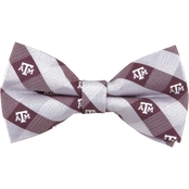 Eagles Wings NCAA Texas A&M Aggies Woven Check Bow Tie