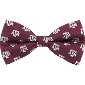 Eagles Wings NCAA Texas A&M Aggies Woven Repeat Logo Bow Tie