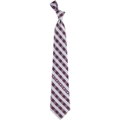 Eagles Wings NCAA Texas A&M Aggies Woven Check Tie