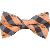 Eagles Wings NCAA Oklahoma State Cowboys Woven Check Bow Tie