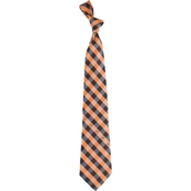 Eagles Wings NCAA Oklahoma State Cowboys Woven Check Tie