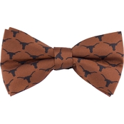 Eagles Wings NCAA Texas Longhorns Woven Repeat Logo Bow Tie