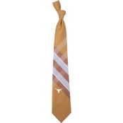 Eagles Wings NCAA Texas Longhorns Woven Grid Tie
