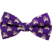 Eagles Wings NCAA East Carolina Pirates Woven Repeat Logo Bow Tie