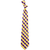 Eagles Wings NCAA East Carolina Pirates Woven Check Tie