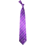 Eagles Wings NCAA Kansas State Wildcats Oxford Silk Necktie
