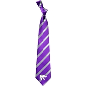 Eagles Wings NCAA Kansas State Wildcats Woven Tie