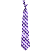 Eagles Wings NCAA Kansas State Wildcats Check Tie