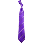 Eagles Wings NCAA LSU Tigers Oxford Woven Silk Tie