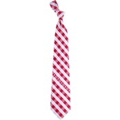 Eagles Wings NCAA Alabama Crimson Tide Woven Check Tie