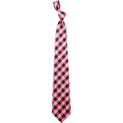 Eagles Wings NCAA Arkansas Razorbacks Woven Check Tie
